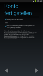 Samsung Galaxy Mega 6-3 LTE - Apps - Konto anlegen und einrichten - 17 / 25