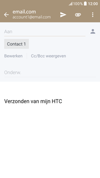 HTC HTC Desire 825 - E-mail - e-mail versturen - Stap 7