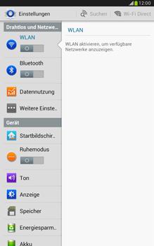 Samsung N5100 Galaxy Note 8-0 - WLAN - Manuelle Konfiguration - Schritt 4