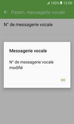 Samsung G389 Galaxy Xcover 3 VE - Messagerie vocale - Configuration manuelle - Étape 9