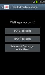 Samsung I8190 Galaxy S III Mini - E-mail - Account instellen (IMAP zonder SMTP-verificatie) - Stap 7