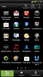 HTC One S - Réseau - Sélection manuelle du réseau - Étape 4