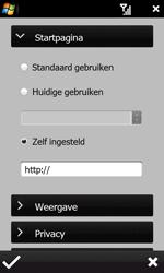 HTC T7373 Touch Pro II - internet - handmatig instellen - stap 18