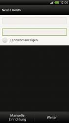 HTC S720e One X - E-Mail - Konto einrichten - Schritt 7