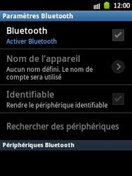 Samsung S5300 Galaxy Pocket - Bluetooth - connexion Bluetooth - Étape 8