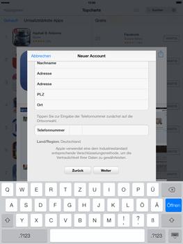 Apple iPad mini iOS 7 - Apps - Einrichten des App Stores - Schritt 22