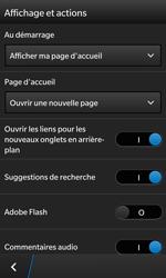 BlackBerry Z10 - Premiers pas - Configurer l