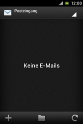 Sony Xperia Miro - E-Mail - Konto einrichten - Schritt 4