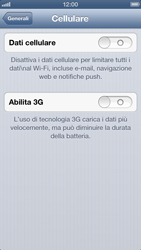 Apple iPhone 5 - Internet e roaming dati - Configurazione manuale - Fase 5