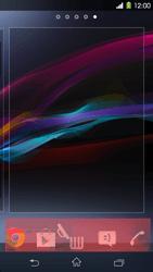 Sony Xperia Z1 - Startanleitung - Installieren von Widgets und Apps auf der Startseite - Schritt 8