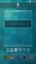 Samsung Galaxy S 5 - Operazioni iniziali - Installazione di widget e applicazioni nella schermata iniziale - Fase 8