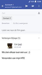 HTC U Play - e-mail - hoe te versturen - stap 17