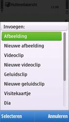 Nokia C6-00 - SMS - handmatig instellen - Stap 12