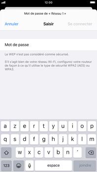 Apple iPhone 8 Plus - iOS 14 - WiFi - Configuration du WiFi - Étape 6