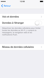 Apple iPhone 5 iOS 10 - Internet et roaming de données - Configuration manuelle - Étape 7