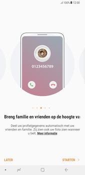 Samsung Galaxy S8+ - Android Oreo (SM-G955F) - Contacten en data - Contacten kopiëren van toestel naar SIM - Stap 4