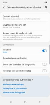 Samsung Galaxy Note10 Plus - Sécurité - modifier SIM PIN - Étape 5