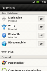 HTC A320e Desire C - Wifi - configuration manuelle - Étape 3