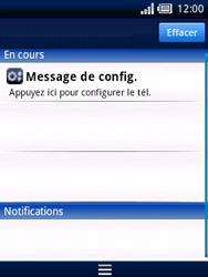 Sony Ericsson Xperia X10 Mini - MMS - configuration automatique - Étape 3