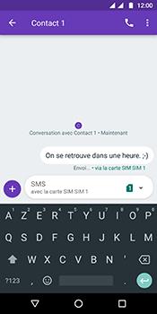Motorola Moto G6 - Contact, Appels, SMS/MMS - Envoyer un SMS - Étape 11