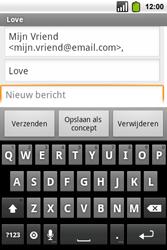 Alcatel OT-991 Smart - E-mail - hoe te versturen - Stap 7