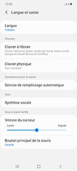 Samsung Galaxy Note 20 5G - Prise en main - Comment ajouter une langue de clavier - Étape 6