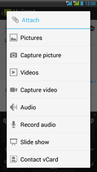 HTC Desire 516 - MMS - Sending pictures - Step 13