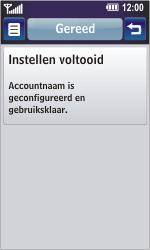 LG GD900 Crystal - E-mail - Handmatig instellen - Stap 17