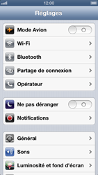Apple iPhone 5 - MMS - Configuration manuelle - Étape 3