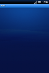 Sony Xperia X8 - MMS - Configuration manuelle - Étape 7
