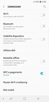 Samsung Galaxy S8 - Android Oreo - Bluetooth - Collegamento dei dispositivi - Fase 5