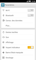 Alcatel Pop S3 (OT-5050X) - Internet - configuration manuelle - Étape 5