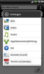 HTC S510e Desire S - MMS - Erstellen und senden - Schritt 12