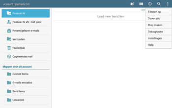 Samsung Galaxy Tab4 10.1 4G (SM-T535) - E-mail - Instellingen KPNMail controleren - Stap 6