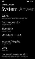 Nokia Lumia 635 - Netzwerk - Netzwerkeinstellungen ändern - Schritt 4