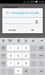 Huawei Y3 - Messagerie vocale - Configuration manuelle - Étape 12