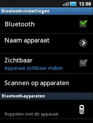 Samsung S5570 Galaxy Mini - Bluetooth - Headset, carkit verbinding - Stap 7
