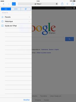 Apple iPad mini 2 - iOS 8 - Internet et roaming de données - Navigation sur Internet - Étape 9