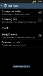Samsung Galaxy S 4 LTE - Rete - Selezione manuale della rete - Fase 10