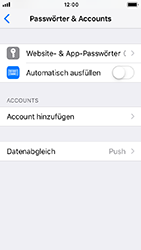 Apple iPhone 5s - iOS 12 - E-Mail - Konto einrichten (outlook) - Schritt 4