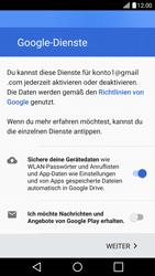 LG G5 SE (H840) - Android Nougat - Apps - Konto anlegen und einrichten - Schritt 16