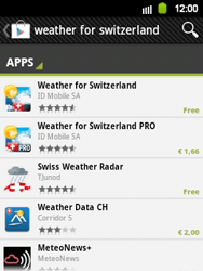 Samsung Galaxy Y - Applications - Installing applications - Step 12