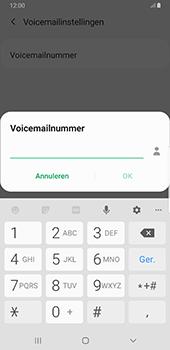 Samsung Galaxy S8+ - Android Pie (SM-G955F) - Voicemail - Handmatig instellen - Stap 9