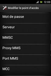 Sony C1505 Xperia E - MMS - Configuration manuelle - Étape 12