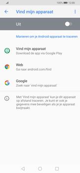Huawei P Smart Z - Toestel - stel Zoek mijn mobiel in - Stap 5