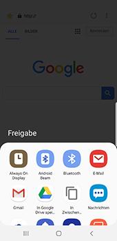 Samsung Galaxy S9 - Android Pie - Internet und Datenroaming - Verwenden des Internets - Schritt 23