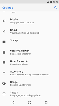 Nokia 6 (2018) - Device - Factory reset - Step 5
