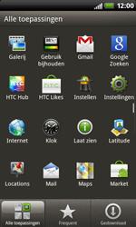 HTC S510b Rhyme - internet - hoe te internetten - stap 2