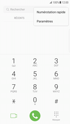 Samsung Galaxy S6 Edge - Android Nougat - Messagerie vocale - configuration manuelle - Étape 6
