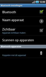 Samsung I9000 Galaxy S - bluetooth - headset, carkit verbinding - stap 7